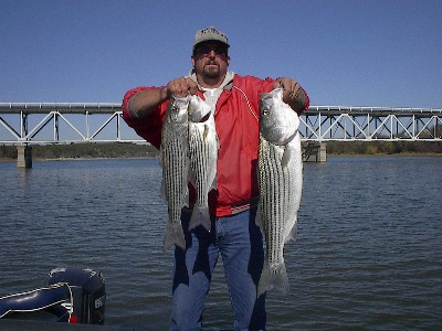 Brazos near Kimball Bend Stripers!