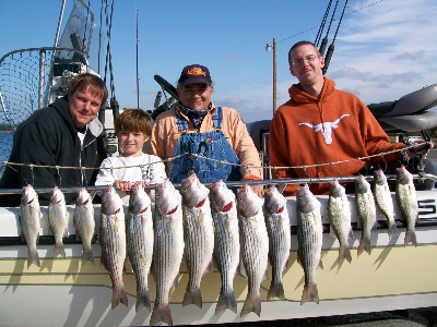 PossumKingdom 11-09  (Limit here is only 2 stripers per person)